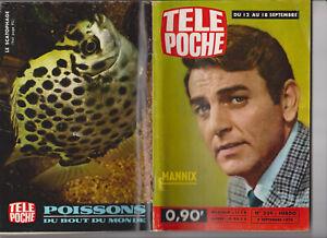 TELE POCHE 1970 N° 239 COMPLET MANNIX