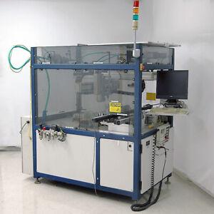 Adept-Technology-3-Axis-Fluid-Dispensing-Cartesian-Robot-Cell-with-Controller