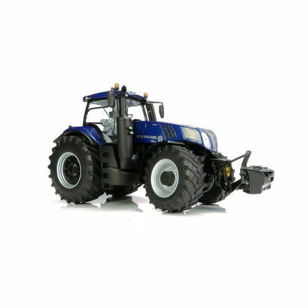 MarGe Models New Holland T8.435 blueE POWER tractor 1 32 scale BOXED 1705