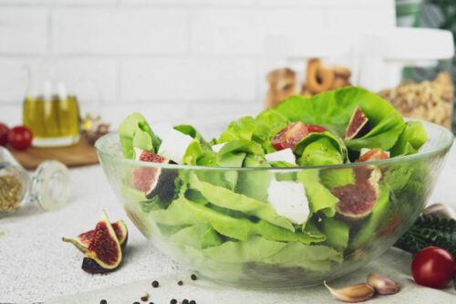 Grande Salade bol 2 L Saladier servierschale Bol Bol Décoré