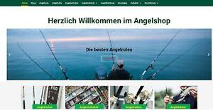 Angel Shop - Amazon Affiliate Shop - Alles für die Angel - 1733 Artikel - NEU