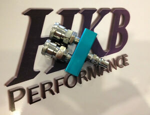 HKB2WC 2 WAY QUICK CONNECT COUPLER NITTO STYLE AIR FITTING MANIFOLD ON BOARD