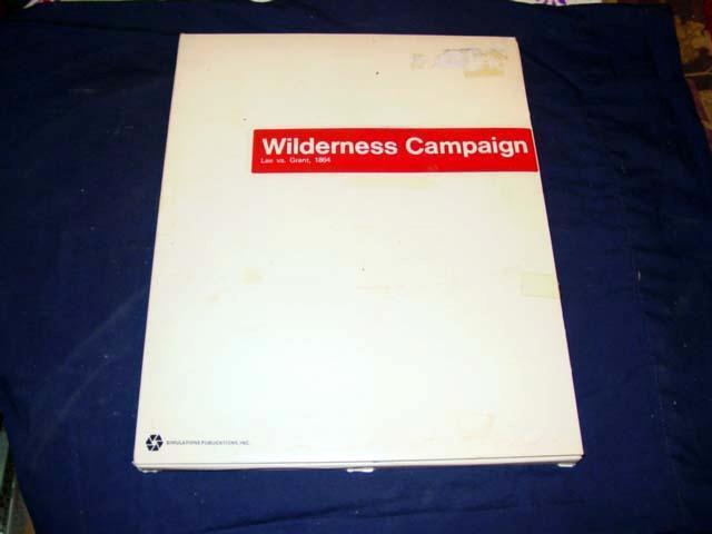 precio mas barato SPI 1972 Caja blancoa EDT-campaña de de de Wilderness-Lee vs Grant, 1864 (40% unpunch)  hasta un 70% de descuento