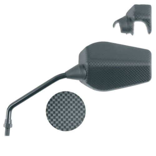 Derbi Senda DRD GPR Black Left Hand Replica Replacement Scooter Mirror New