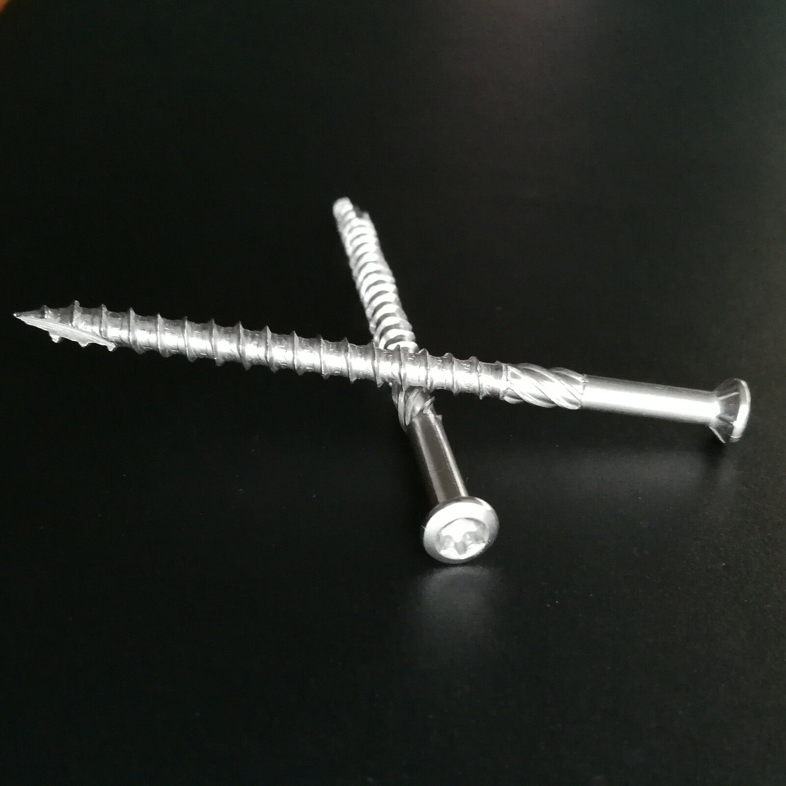 PROFI Edelstahl C1 Terrassenschrauben TORX TX mit CUT-Spitze Terassenschrauben