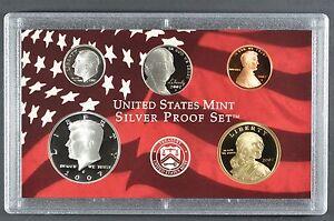 U.S Mint Made in Red Mint Box with COA 2007-s U.S SILVER Proof Set