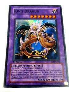 King Dragun Yugioh Super Rare FET-EN036