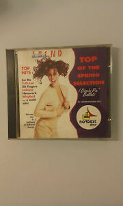 COMPILATION-TOP-OF-THE-SPRING-SELECTION-1993-12TRACKS-TIMBRO-ROSSO-SIAE-CD