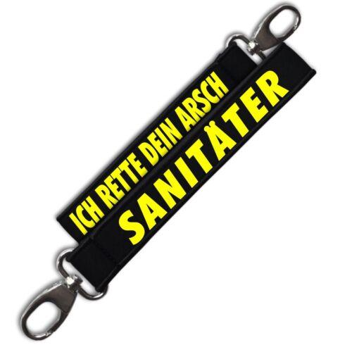 Neopren Schlüsselanhänger Sanitäter Geschenk Geburtstag Sani Ambulanz Notarzt