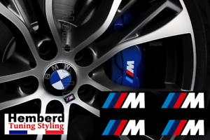 4x-Stickers-M-BMW-Motorsport-Logo-Performance-AUTOCOLLANTS-etrier-de-frein