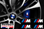 miniatura 1 - 4x-Stickers-M-BMW-Motorsport-Logo-Performance-AUTOCOLLANTS-etrier-de-frein