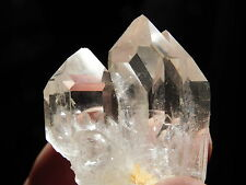A Small AAA Quartz Crystal Cluster with Nice Points! from Brazil 42.9gr