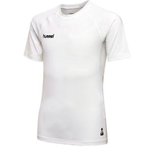 Hummel First Perfection SS Jersey Funktionsshirt Fitnessshirt weiss 103729 9001