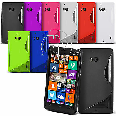 Wave S Line Gel Case Silicone Case Cover For Nokia Lumia 930