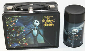NECA Disney Tim Burton Nightmare Before Christmas Lunchbox w/ Thermos Lunch Box   eBay
