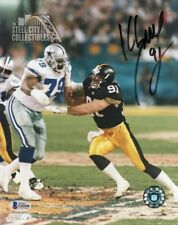 090ca73839e item 5 Kevin Greene Autographed Pittsburgh Steelers 8x10 Photo - BAS COA  (F) -Kevin Greene Autographed Pittsburgh Steelers 8x10 Photo - BAS COA (F)