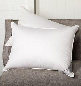 Italy Sferra Dover European White Duck Down Pillow With