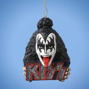 KISS: Gene Simmons / The Demon - Christmas Tree Decoration *Official Merch*