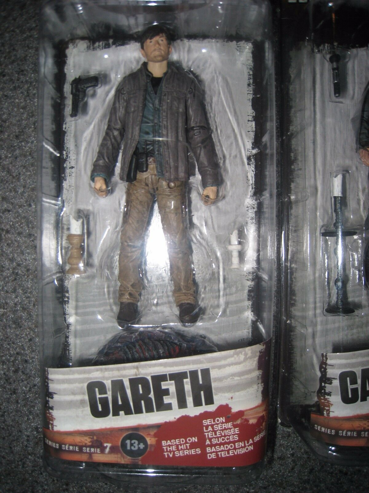 394f2ceb442 ... NIP AMC THE WALKING DEAD GRIMES GARETH CARL GRIMES DEAD MICHONNE SERIES  7 FIGURES 0366b9 ...