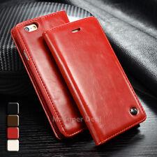 iPhone 5s 5 Etui Tasche Case Leder Synthetisch Cover Schutzhülle Neu Zubehör Rot