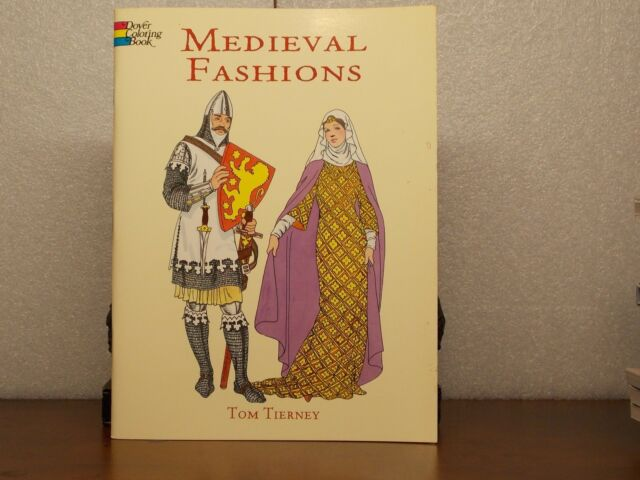 - Medieval Fashions Coloring Book From Dover Publications EBay