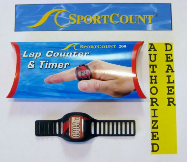 Sportcount Chrono 200 Lap Counter Timer 90002 Red