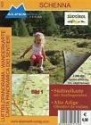 Schenna Luftbildpanorama-Wanderkarte (2010, Mappe)