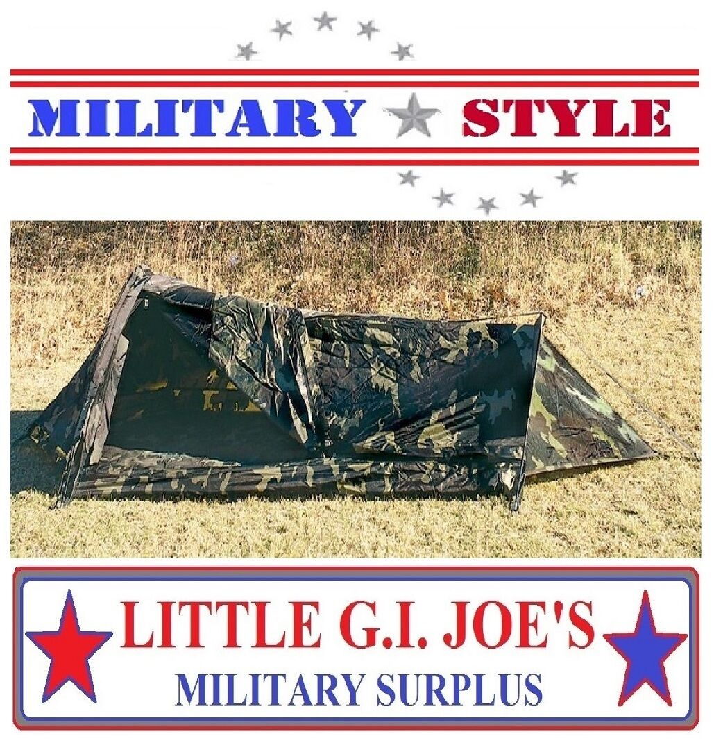 redhco G.I Type Camouflage 1-Man Bivouac Shelter Woodland  Camouflage redhco 3810  the cheapest