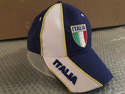 Cooperativa Cappello Bandiera Italia Tricolore Visiera Cappellino Hat Diversificato Nell'Imballaggio
