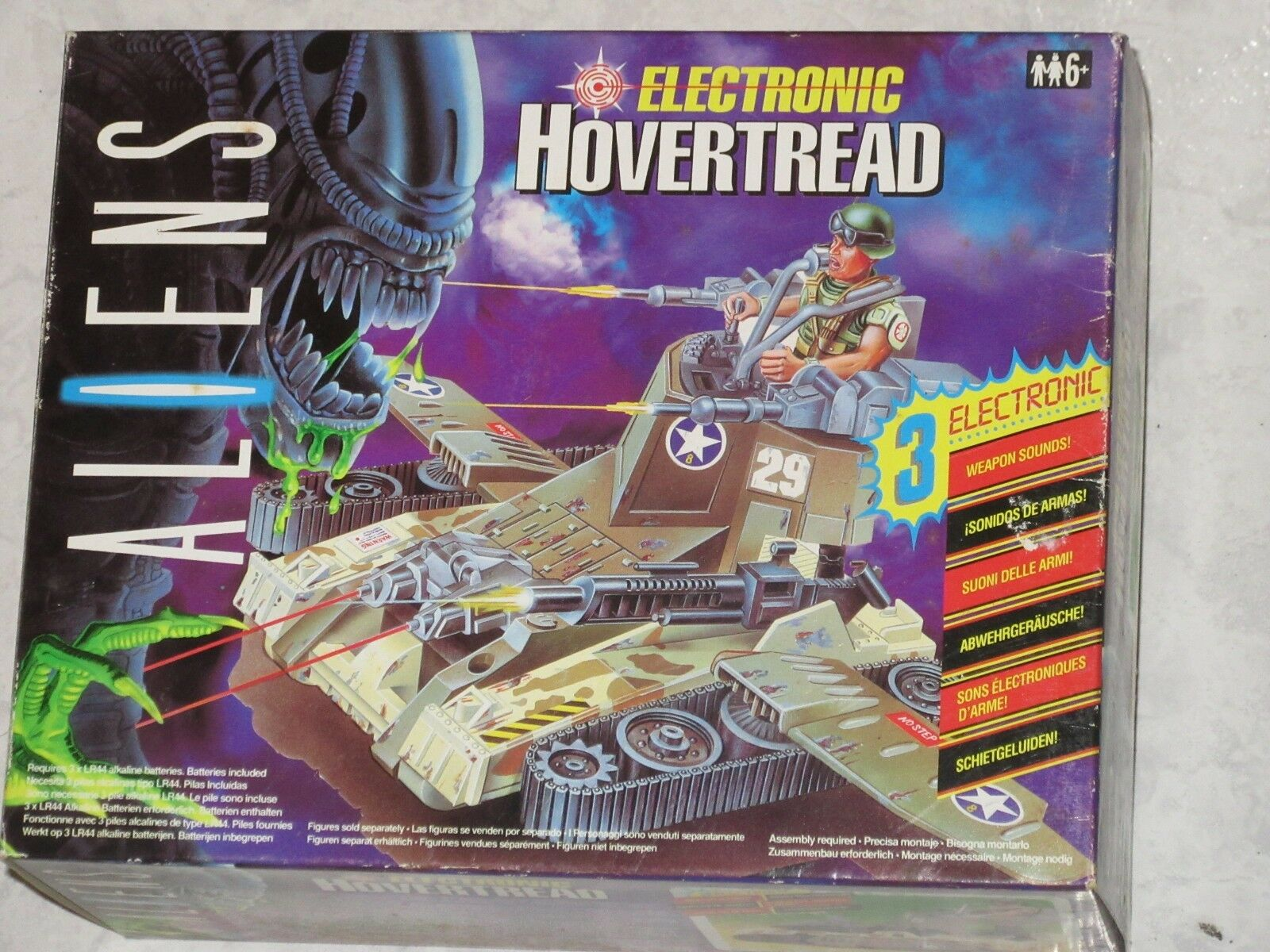 ALIENS : ELECTRONIC HOVERTREAD (1992) - KENNER - BRAND NEW     VERY RARE