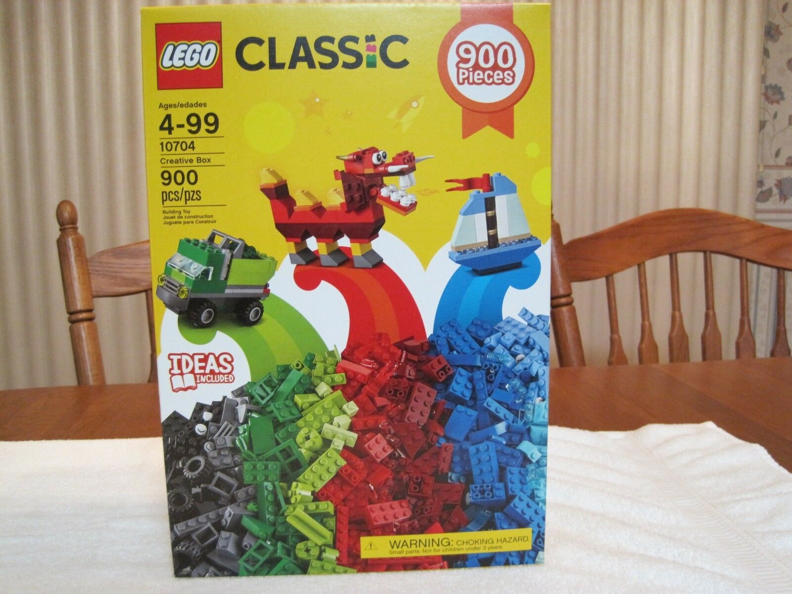 2017 LEGO CLASSIC CREATIVE BOX 900 PIECES -- NEW -- FACTORY SEALED