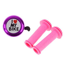 Dinosaur Pink Co-Union Kids Bicycle Handlebar Grips For Tricycle Bike Scooter