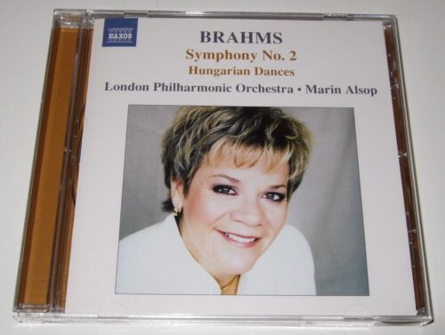 1 of 1 - Brahms: Symphony No. 2; Hungarian Dances (CD, 2005, Naxos) Marin Alsop