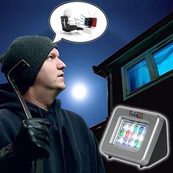 Fake-TV PLUS Pentatech FTV11 Fernsehsimulator Netzteil Fernseh Simulator Alarm