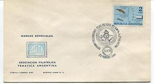 1964 60°aniv. Observatorio Islas Orcadas Del Sur Argentina Polar Antarctic Cover