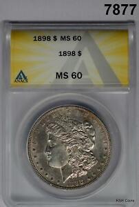 1898-MORGAN-SILVER-DOLLAR-ANACS-CERTIFIED-MS60-7877