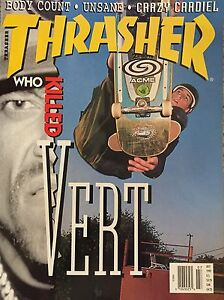 Thrasher July 1992 Who Killed Vert Barrett Cardiel Ferdinand Neuhaus Skateboard