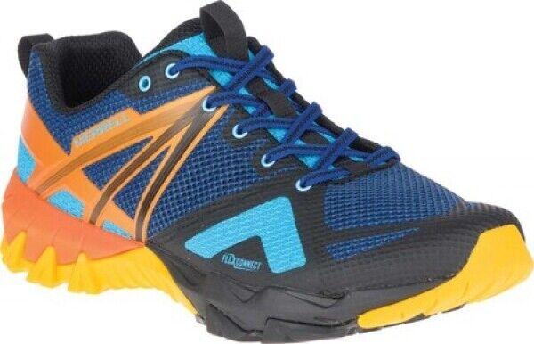 New Mens Merrell MQM Flex blu  Cobalt Mesh TPU Running Hiking Trail scarpe  edizione limitata a caldo