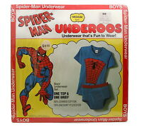 Vintage 1978 Spiderman Underoos Underwear That's Fun To Wear Old Stock Md