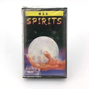 Spirits-sealed-taupe-soft-1st-creation-Erbe-1987-videoaventura-msx-msx2-cassette