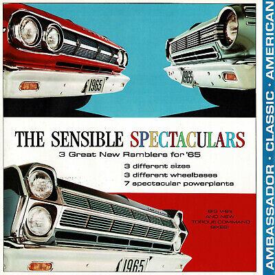 Ambassador Classic American 1965 Rambler Dealer Accessories Options Brochure