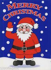 Christmas Cling On Vinyl Car Window Sticker - Santa Claus Waving cc7