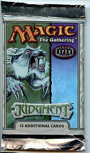 MTG-Judgement-Booster-Pack-WOTC-Magic-the-Gathering-New-2002-Z5