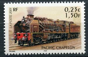 STAMP-TIMBRE-FRANCE-NEUF-N-3410-CHEMIN-DE-FER-TRAIN-PACIFIC-CHAPELON