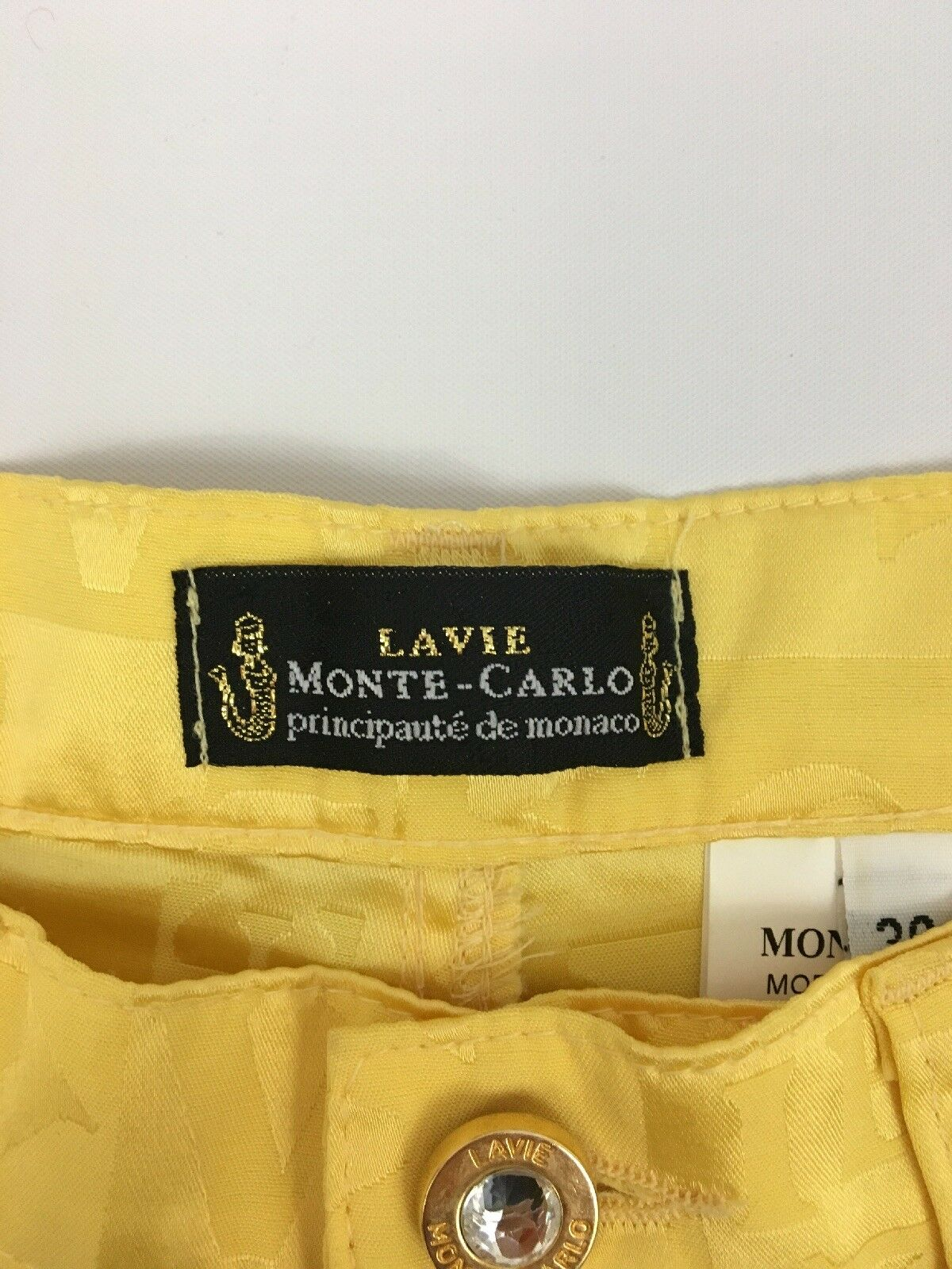 La Vie MONTE CARLO Principaute de Monaco Yellow W… - image 4