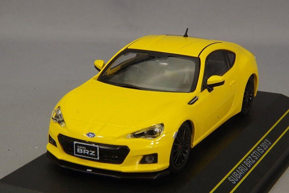 First43 First43 First43 1 43 SUBARU BRZ STI tS 2013 Yellow F43-079 Best buy Gift F S from Japan db6ddb