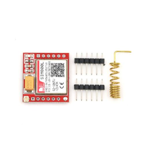 Smallest SIM800L GPRS GSM Module MicroSIM Card Core BOard Quad-band TTL Port/_DM