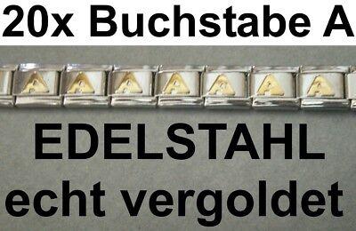 Armband KTM EDELSTAHL Vergoldet Namen Wunschname passend für Nomination