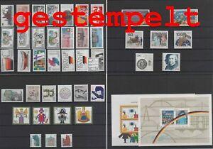 Germany-Federal-Frg-vintage-yearset-1990-Postmarked-Used-complete-1