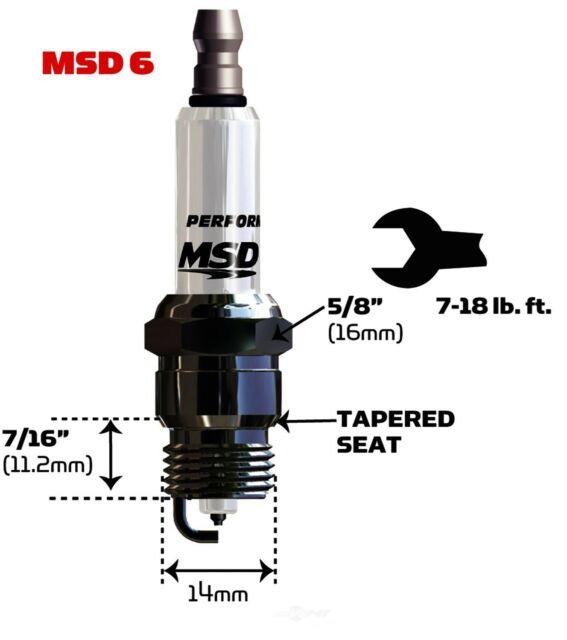 MSD Ignition 37224 Iridium Spark Plug